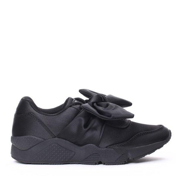 ad67d893 Czarne, obuwie sportowe - Obuwie - Czarny | Royalfashion.pl - sklep ...