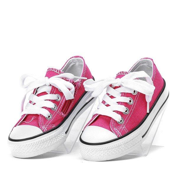 591fc06191404 Dziecięce trampki w kolorze fuksjowym Susie - Obuwie - Różowy ...