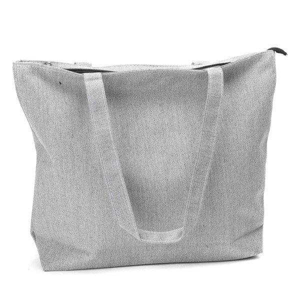 95df117292331 Szara torba z tkaniny Paris - Torebki - | Royalfashion.pl - sklep z ...