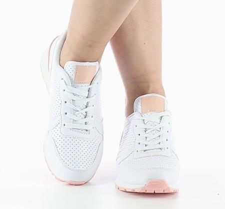 Białe Adidasy Klasyka - Obuwie