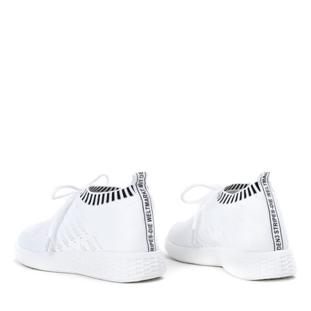 Białe buty sportowe Kasai - Obuwie