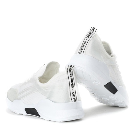 Białe buty sportowe Ravina - Obuwie