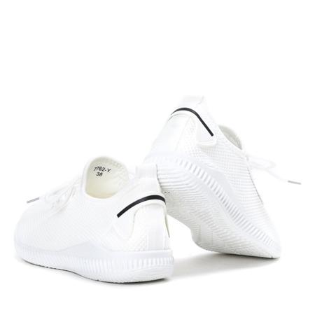Białe buty sportowe Therane - Obuwie