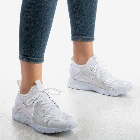 Białe damskie buty sportowe Japossella - Obuwie