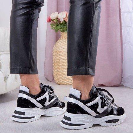 Biało-czarne ugly shoes Manhetten - Obuwie
