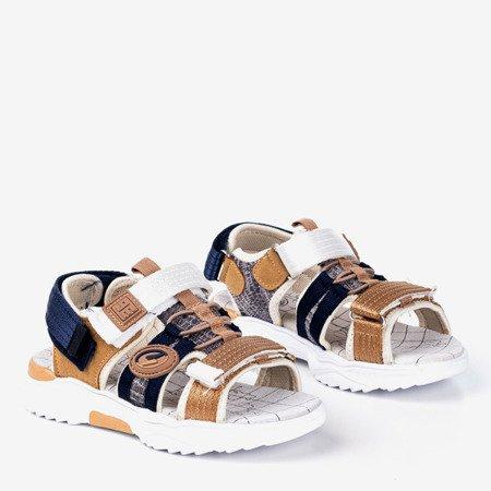 Chłopięce sandały w kolorze khaki Bart - Obuwie