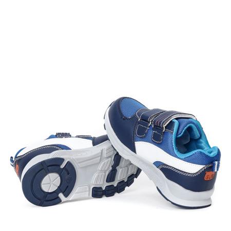 Chłopięce sportowe buty w kolorze granatowym Trini - Obuwie