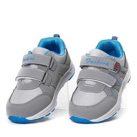 Chłopięce szare buty Caltagira - Obuwie