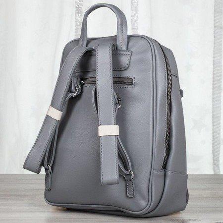 Ciemnoszary plecak damski - Plecaki