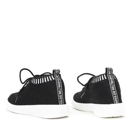 Czarne buty sportowe Kasai - Obuwie