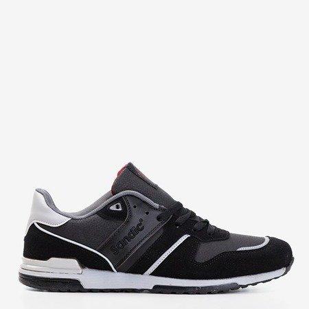 Czarne męskie sportowe buty Mubert - Obuwie