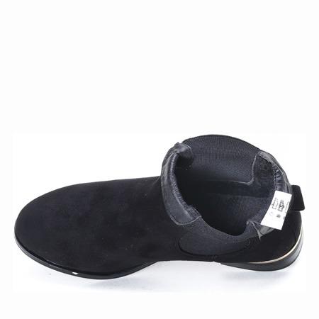 Czarne sztyblety Lisa- Obuwie