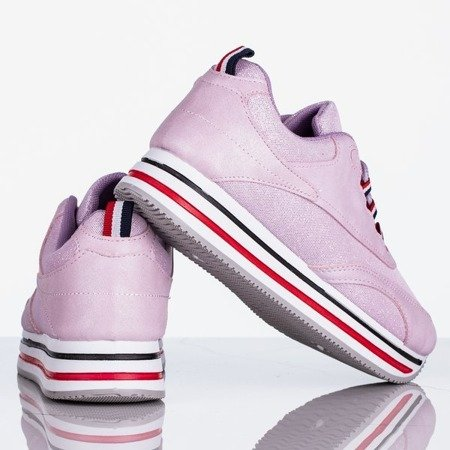 Fioletowe sportowe buty damskie Shani - Obuwie