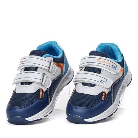 Granatowe sportowe buty chłopięce Noro - Obuwie
