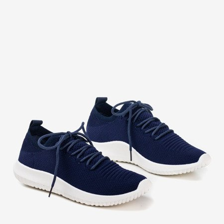 Granatowe sportowe buty damskie Noven - Obuwie