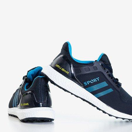 Granatowo-niebieskie sportowe buty damskie Birala - Obuwie