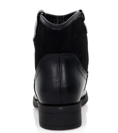 Klasyczne, czarne botki - Obuwie