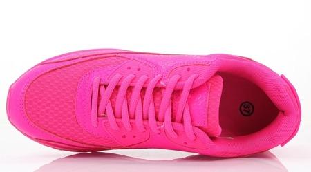 Różowe adidasy  - Obuwie