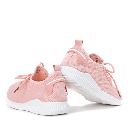 Różowe buty sportowe Therane - Obuwie