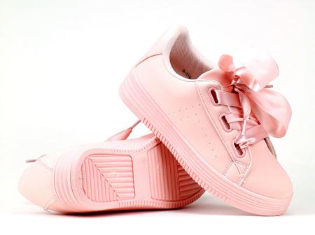 Różowe, sportowe buty - Obuwie