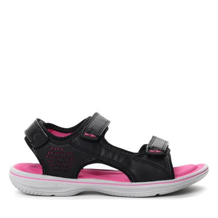 Różowe sportowe sandały Anaya- Obuwie