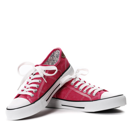 Różowe trampki - Obuwie