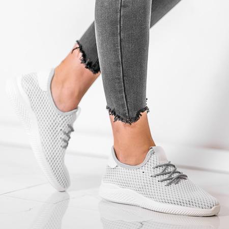 Sportowe buty w kolorze jasnoszarym Kaylee - Obuwie