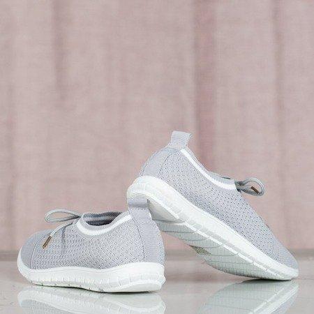 Szare sportowe buty Mandala - Obuwie