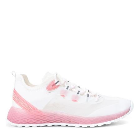 Sznurowane buty sportowe w kolorze różowym Farssa - Obuwie