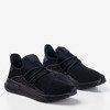 Czarne sportowe buty męskie Sesto- Obuwie