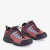 Czarno-czerwone damskie sportowe buty Aliccer - Obuwie