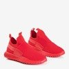 Czerwone męskie buty sportowe Johnny - Obuwie