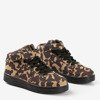 Sportowe świecące buty LED dziecięce moro Dixon - Obuwie